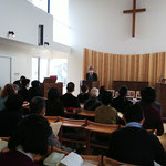 2020年11月1日 新会堂にて礼拝