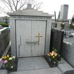 京葉中部教会のお墓です