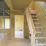 2020年8月2日 多目的室及び食堂→ロフトへの階段