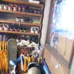 靴がたくさん