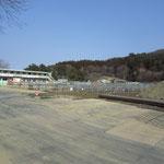 旧釜石商業高校を撤去して復興住宅が建ちます