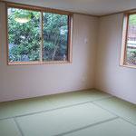 2020年9月27日 和室 畳が入りました