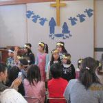 幼稚園の子ども達はキラキラ星