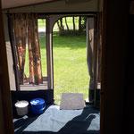 Retro caravan - Morene Hoeve
