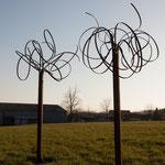 Palabra (H : 230 cm)  Steel Sculpture    © Michel LAURENT (MichL)