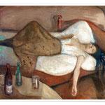 """Edvard Munch """"Der Tag danach"""" 1895"""