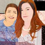 Elfi und Marlene, 40 x 60cm, 2015