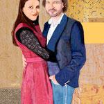Marlene und Martin, 50 x 70cm, 2017