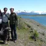 Ballade sur le Lago Roca