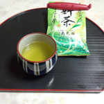 高見園の新茶。深蒸し。