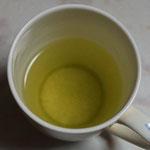 もう一杯は緑茶。比留間園の「ゆめわかば」(1日)。