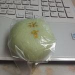 7月1日。日村饅頭をいただきました。