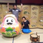 4日。サコちゃん地デジツアー、田中聡美さんと。