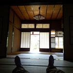 21日。加賀市の蘇梁館。