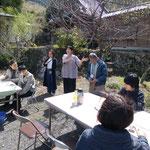 31日、多田元吉翁を偲ぶ会の開会挨拶(静岡・丸子)