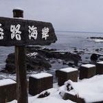 なかの洋菓子店の前は海、恋路海岸(2日)。