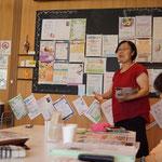 報告者。このコミレスびよりを運営するツナグバヅクリの鎌田菜穂子代表。