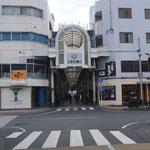 3日。豊橋の商店街を散策。