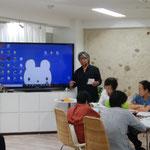 コミレスネットワークの後藤さんが「原っぱカフェ」を紹介。