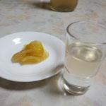 生姜シロップ。