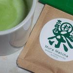 南山城村の「抹茶オーレの素」。おいしい。東京で購入。