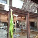 須田青華窯。菖蒲が清々しい。