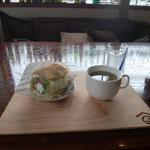 5日。能登シチリアで昼食。