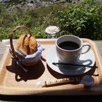 おちゃくりカフェでモーニングコーヒー。