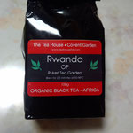 ルワンダの紅茶をいただきました。おいしい。