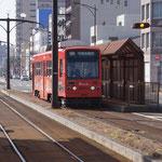 3日。豊橋の路面電車に乗る。