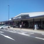 4日。道の駅いわみ(鳥取県)。もうすぐ鳥取市に到着。