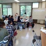 紅茶の会の藤原さんもスピーチされました。