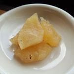 リンゴのシロップ煮
