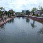 7月2日。七尾に行きました。御祓川です。