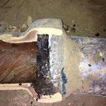 aufgeschnitte Muffenverbindung Steinzeugrohr -2