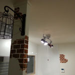 キッチン【壁天井塗装・一部造形】