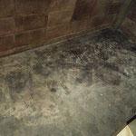 モルタル床をエイジング塗装