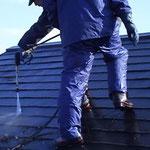 屋根高圧洗浄(コロニアル)