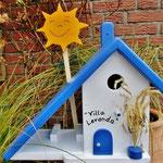 Houten Nestkastje voor Pindakaas pot, Nestkastje, thema, Grieks stijl  Zon, Vogelhuisje bouwen, vogelhuisje pindakaas pot, huisje zon