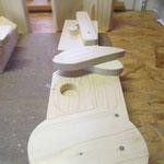Vogelhuisje bouwen nestkastje hout koe in de maak_contouren zagen
