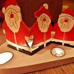 Houten Sfeerlicht Kerstman, uniek, theelichthouder speciaal, bijzondere sfeerlichten, uitgevallen theelichthouder_8