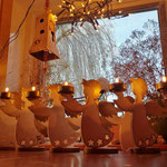 Houten Sfeerlicht Engelen, uniek, theelichthouder speciaal, bijzondere sfeerlichten, uitgevallen theelichthouder_12