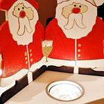 Houten Sfeerlicht Kerstman, uniek, theelichthouder speciaal, bijzondere sfeerlichten, uitgevallen theelichthouder_6