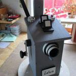 Vogelhuisje bouwen nestkastje hout camera in de maak_eindresultaat
