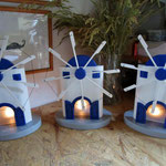 Houten Sfeerlicht Molentje, uniek, theelichthouder speciaal, bijzondere sfeerlichten, uitgevallen theelichthouder_29