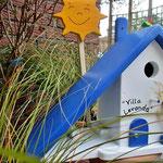 Houten Nestkastje voor Pindakaas pot, Nestkastje, thema, Grieks stijl  Zon, Vogelhuisje bouwen, vogelhuisje pindakaas pot, huisje zon_3