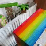 Vogelhuisje bouwen nestkastje hout Salsa-hut in de maak_detail_dak