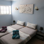 Schlafzimmer mit Einzelbetten 90 x 200 m