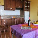 Essbereich + Küche