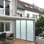 Trennwände für Terrassenüberdachungen